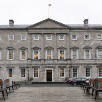 Leinster House Dail Eireann Election