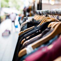 retail shopping clothes