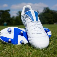football-soccer boots pitch