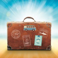 luggage-holiday travel