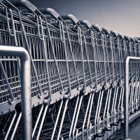 shopping-trolley supermarket