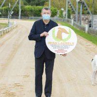 Jimmy Barry Murphy Irish Laurels Greyhound Curraheen Park