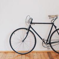 bicycle-home house bike