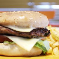 burger food restaurant takeaway chipper chips fries
