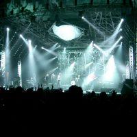 festival crowd concert gig music