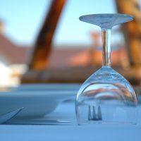 dinner food lunch restaurant table wine glass
