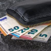 money-wallet euro cash pay