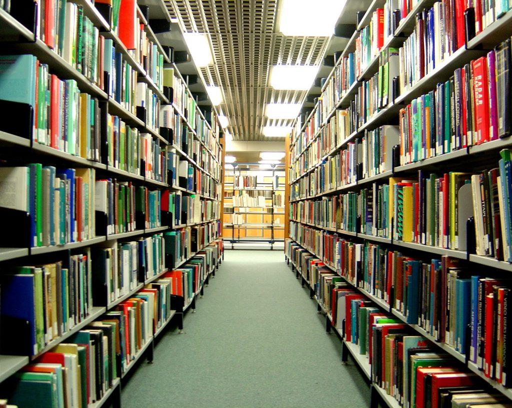 university college library books