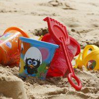bucket-sand beach summer