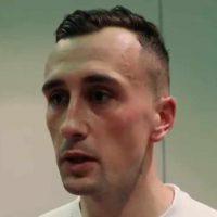 Aaron McEneff speaking to FAI TV