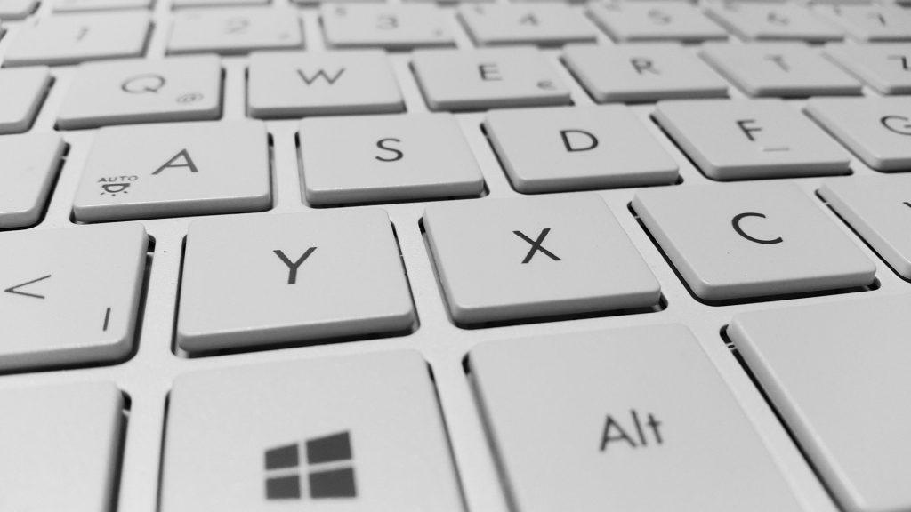 computer keyboard laptop internet online work