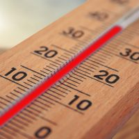 thermometer-climate change temperature
