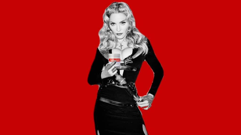 Madonna Sudocrem Picture