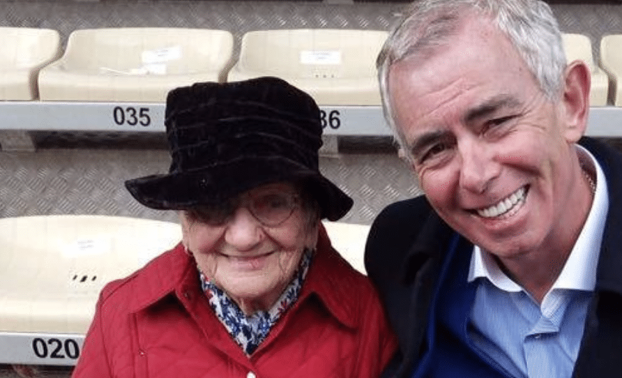 Neil Prendeville Mary McGrath 100 year old