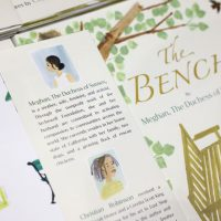 The Bench Meghan Markle Book