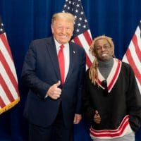 Rapper Lil Wayne thanks Donald Trump for pardon
