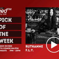 """Pick of the Week: RuthAnne """"F.L.Y."""" - Green on Red"""