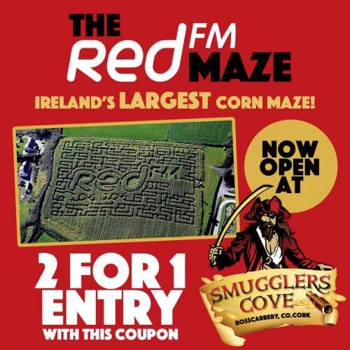 RedFM Maze Voucher 2021 Smugglers Cove Rosscarbery