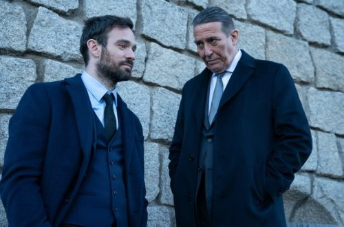 Charlie Cox and Ciaran Hinds in RTE's Kin