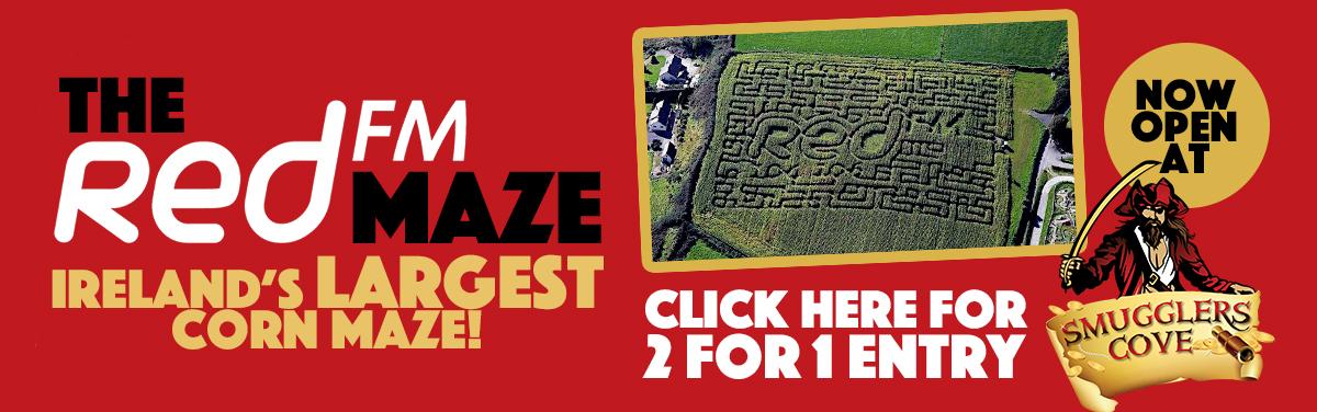 RedFM Maze Banner