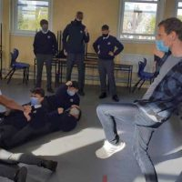 Michael Fassbender drama workshop St Brendans Killarney