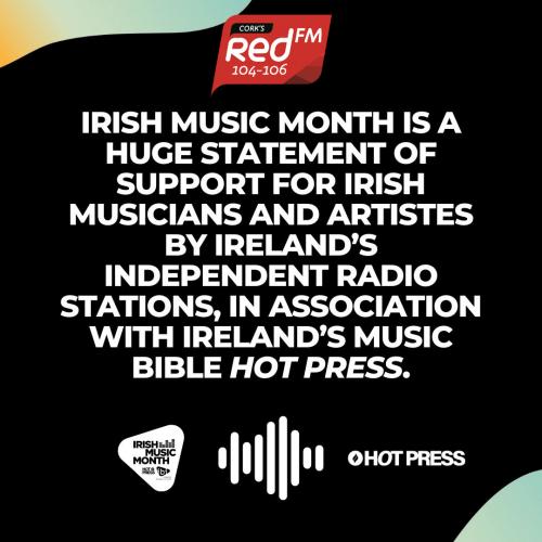 IRISH MUSIC MONTH REDFM