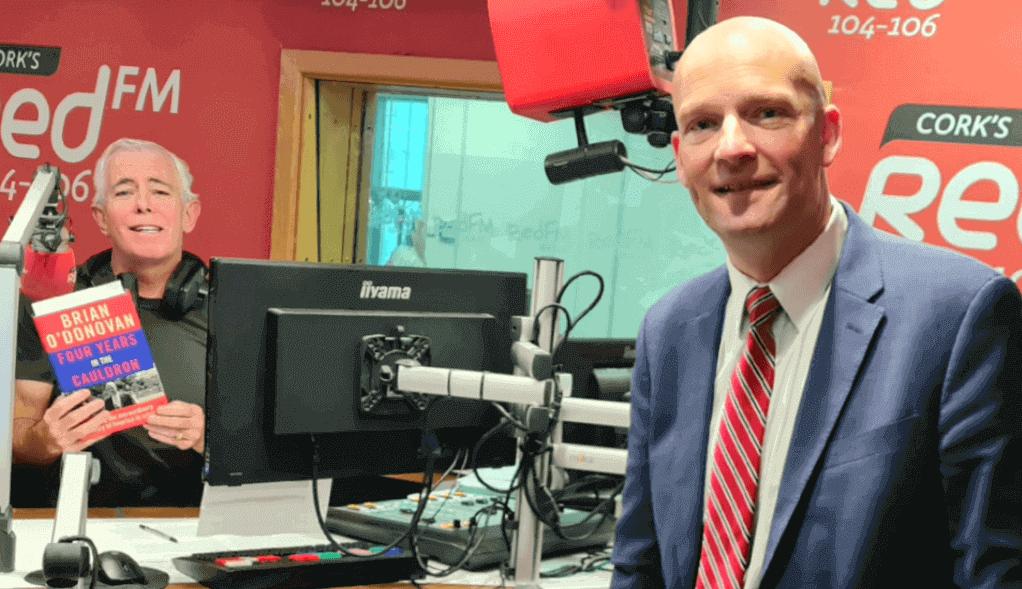 brian o'donovan cork washington correspondent